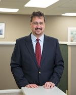 Doug Parrish, insurance agent and co-owner of Gress Kinney Parrish Insurance Center in Yakima, WA