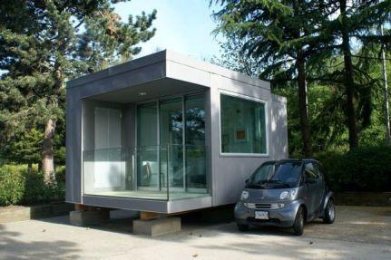 La nueva casa pequeña es lista y eficiente
